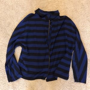 Chico's Striped Lightweight Jacket
